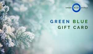 Green Blue gift card: Winter gift