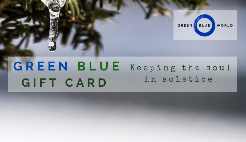 Green Blue gift card: Solstice