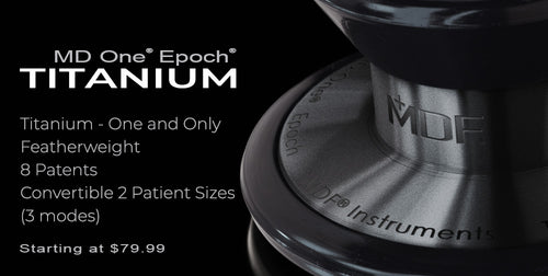 MD One® Epoch® Titanium Collection