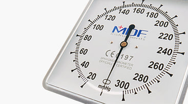 Desk & Wall Aneroid Sphygmomanometer - For Office Professionals