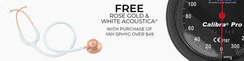 Promotions - Free Matte Rose Gold & White Acoustica