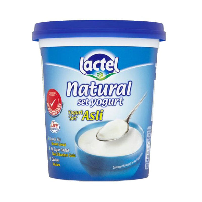 Lactel Natural Set Yogurt 470g