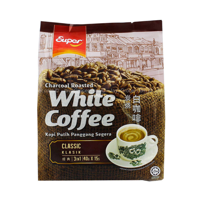 Super Charcoal Roasted Classic White Coffee 40g x 15