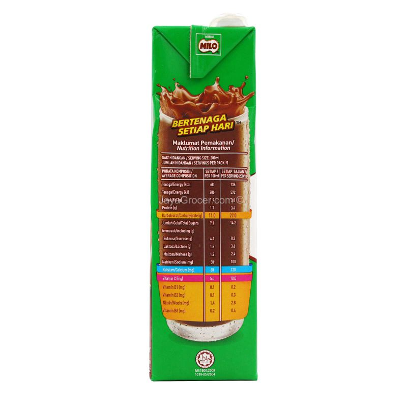 Milo Malt Chocolate Drink 1L
