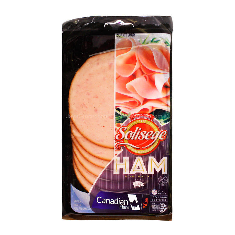 Solisege Canadian Ham Slices 150g