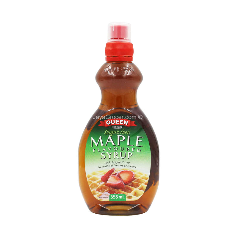 Queen Maple Flavoured Syrup 355ml
