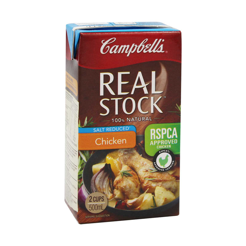 Campbell?s Real Stock Salt Reduced Chicken 500ml