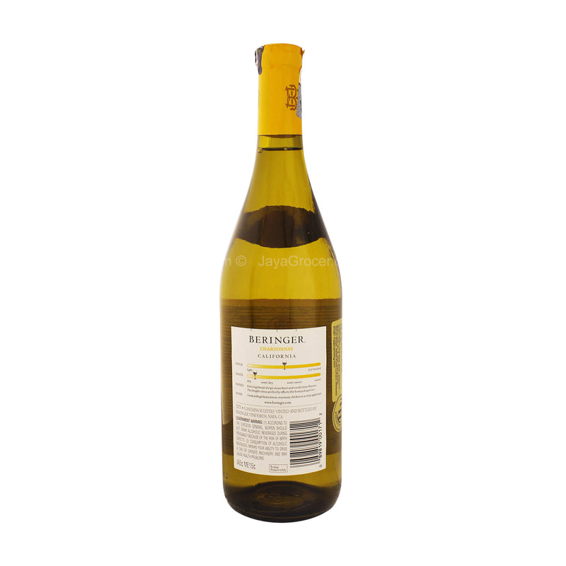 Beringer Simply Sophisticated Chardonnay Wine 750ml
