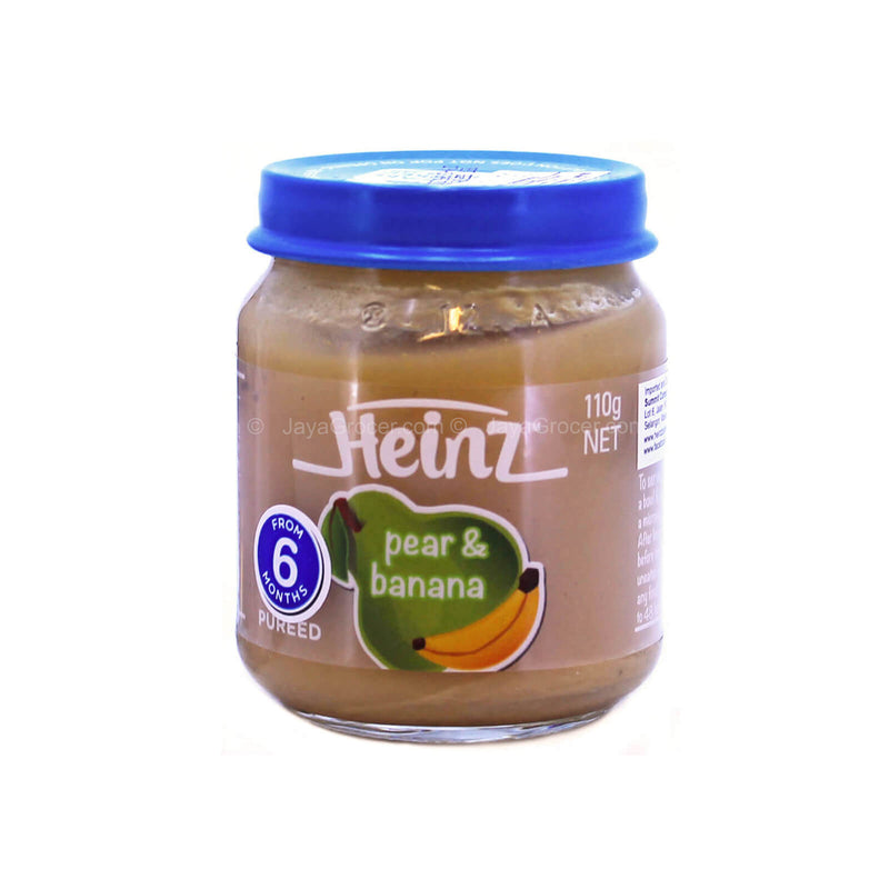 Heinz Pear & Banana Baby Puree 110g