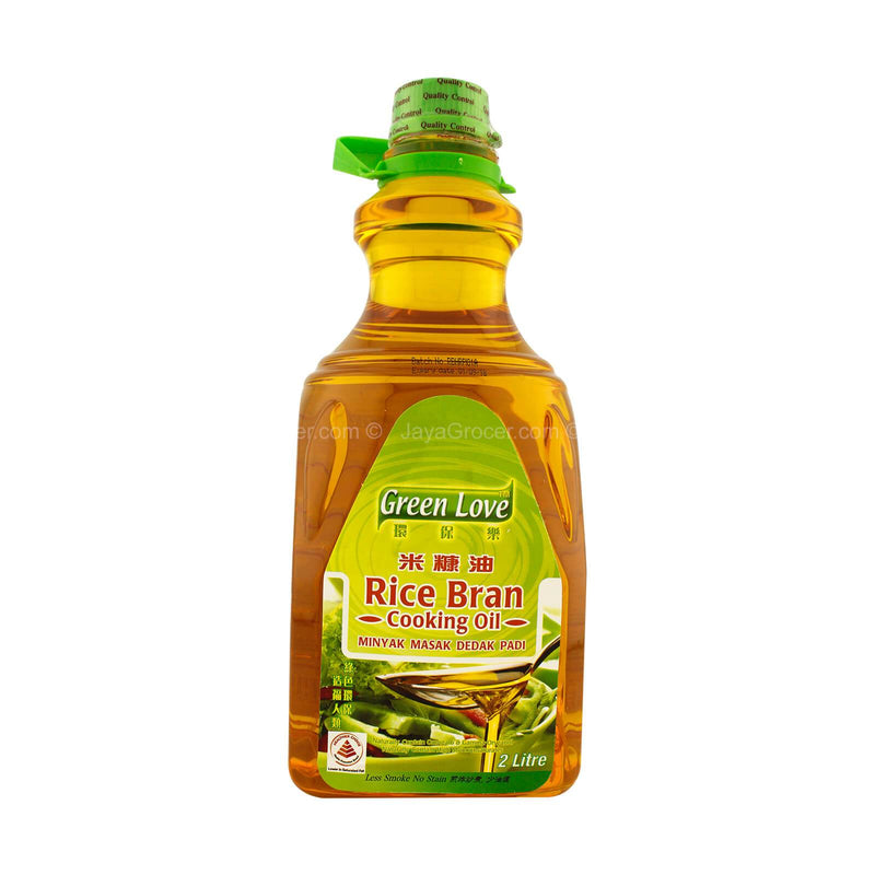 Green Love Rice Bran Cooking Oil 2L