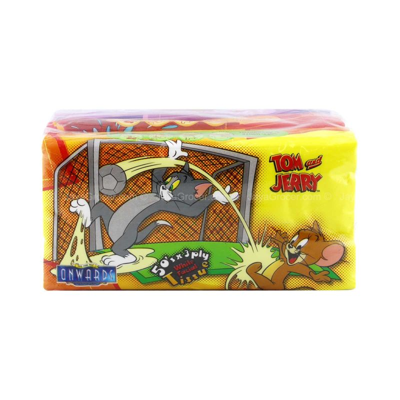 Onwards Tom & Jerry Soft Pack Travel Tissue 50sheets x 2packs