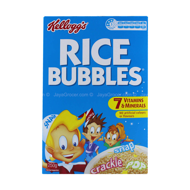 Kellogg's Rice Bubbles Cereal 250g