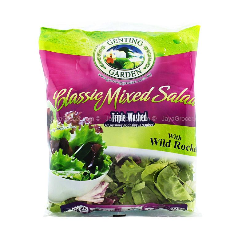 Genting Garden Classic Mixed Salad 125g