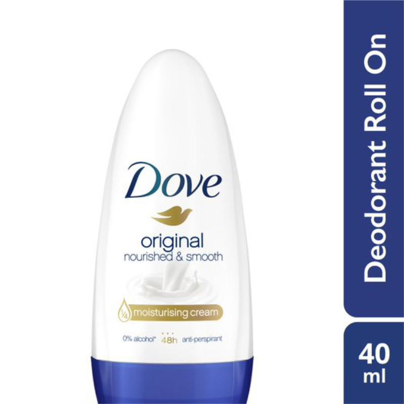 Dove Original Whitening Anti Perspirant Roll-On Deodorant 40ml