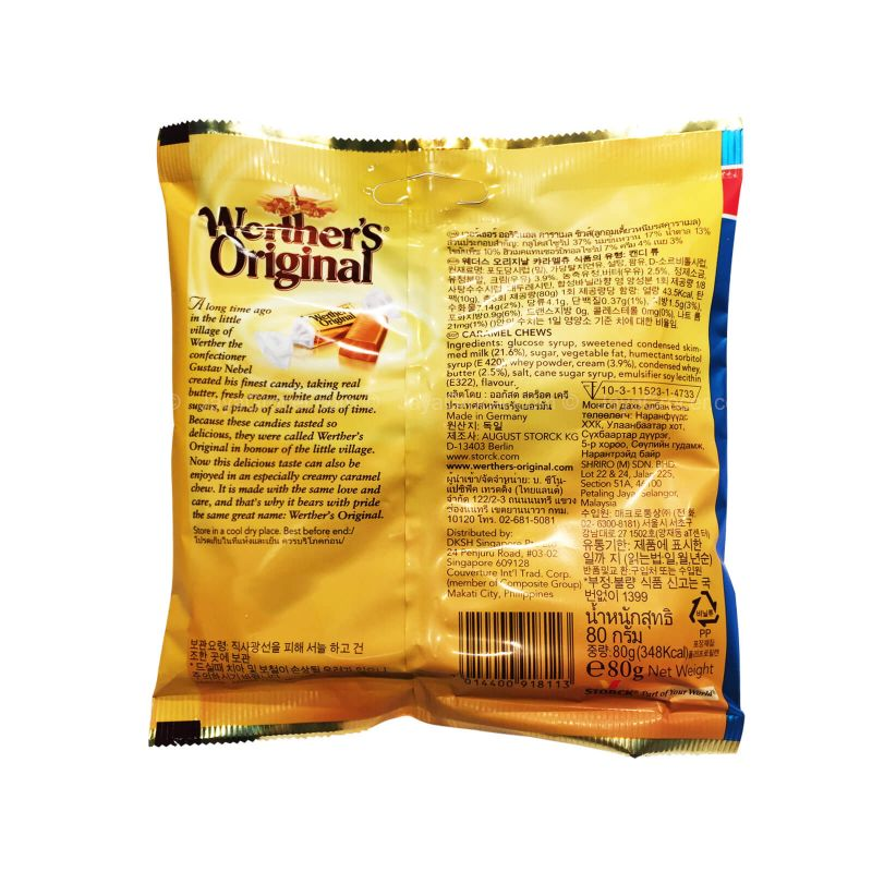 Werther's Original Caramel Chews 80g
