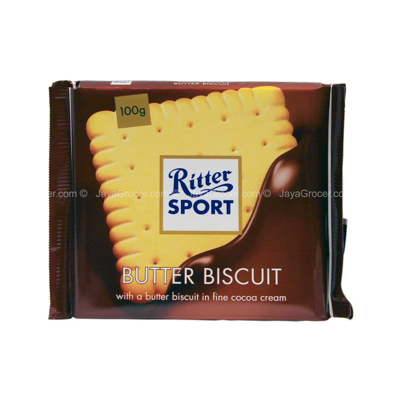 Ritter Sport Butter Biscuit in Fine Cocoa Cream 100g