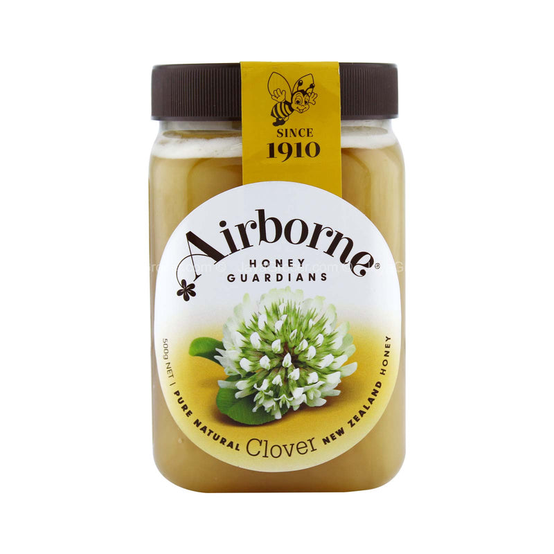 Airborne Clover Creamed Honey 500g