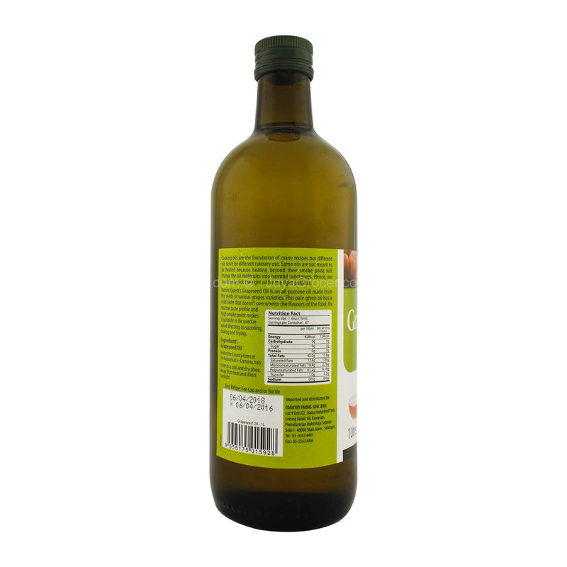 Nature Quest Grapeseed Oil 1L