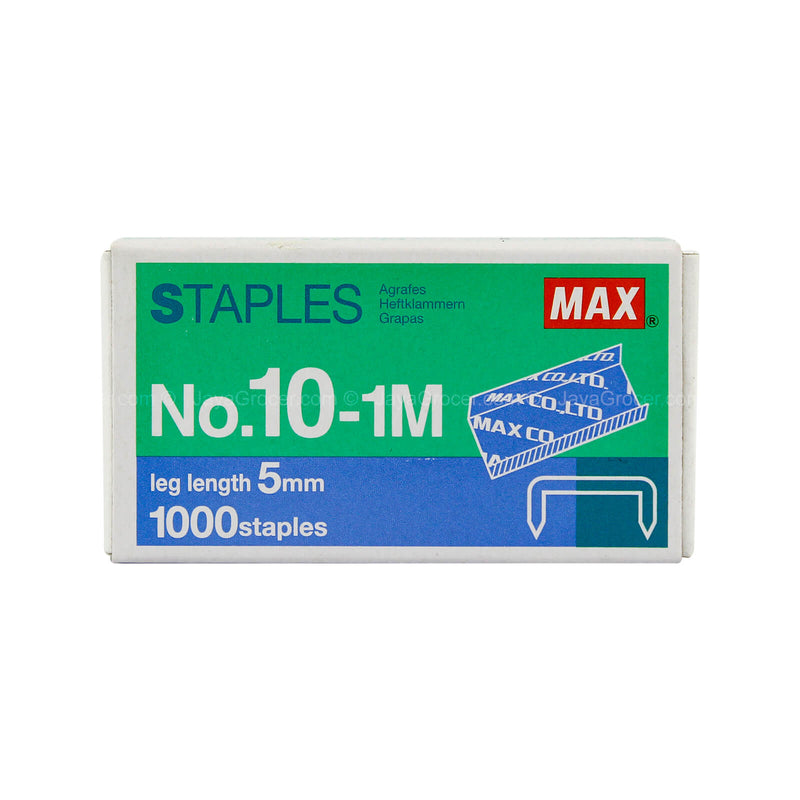Max Staples NO10-1M 1000staples