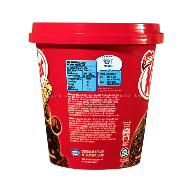 Nestle Kit Kat Bites Chocolate Ice Cream 750ml