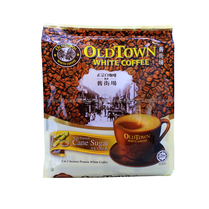 Old Town White Coffee with Natural Cane Sugar 36g x 15