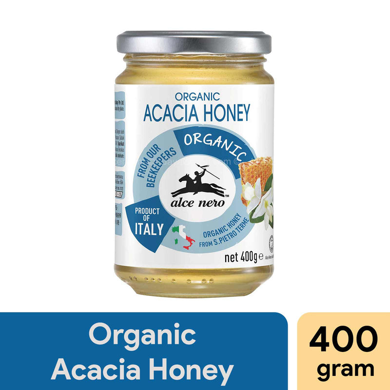 Alce Nero Organic Acacia Honey 400g