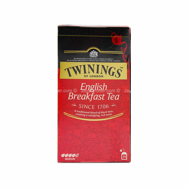 Twinings English Breakfast Black Tea 2g x 25