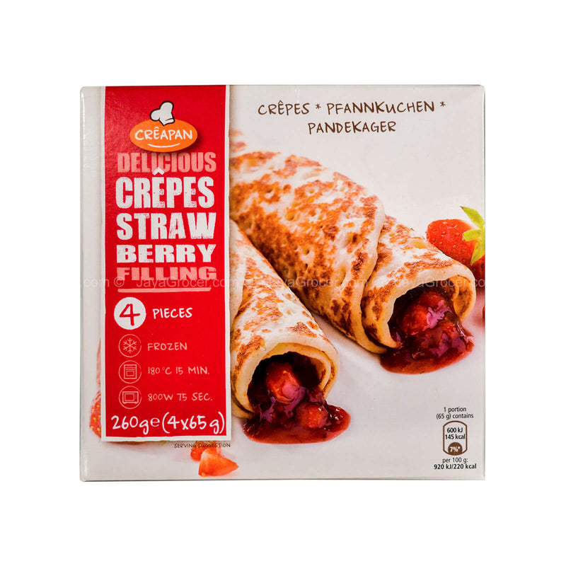 Creapan Crepes Strawberry Filling 260g