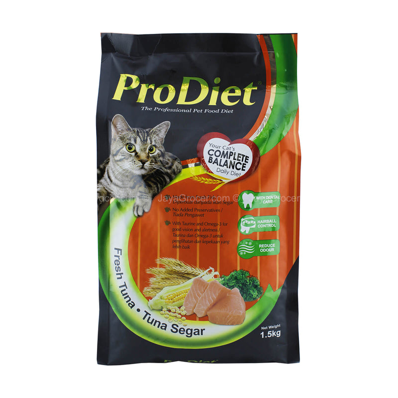 Prodiet Fresh Tuna Dry Cat Food 1.5kg
