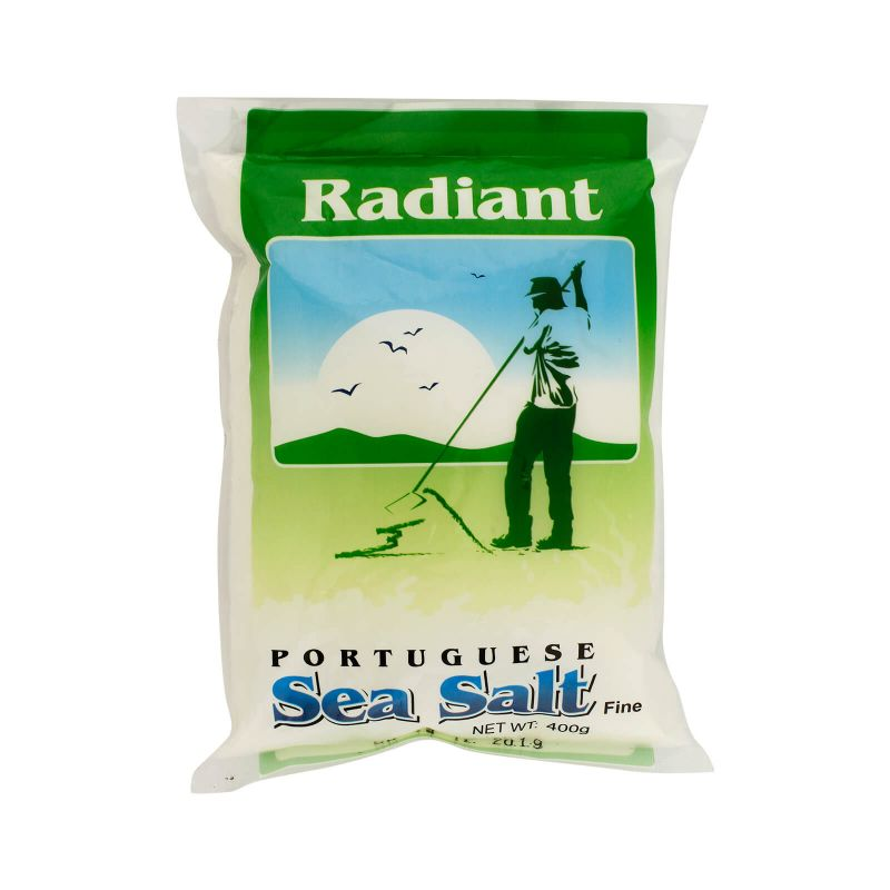 Radiant Portuguese Fine Sea Salt 400g