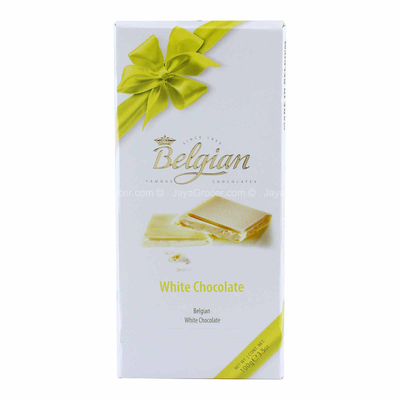 Belgian White Chocolate 100g