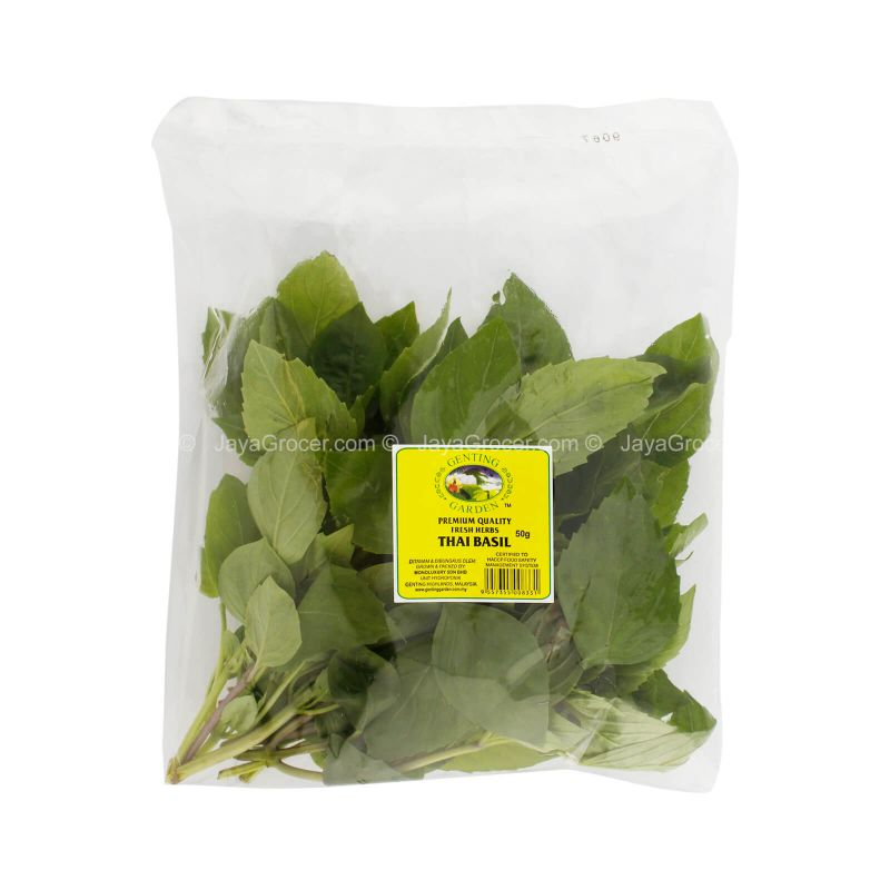 Genting Garden Thai Basil Leaves 50g