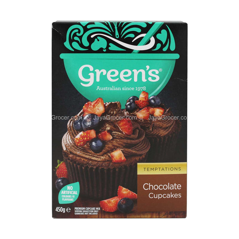 Green's Chocolate Cupcakes Mix 450g