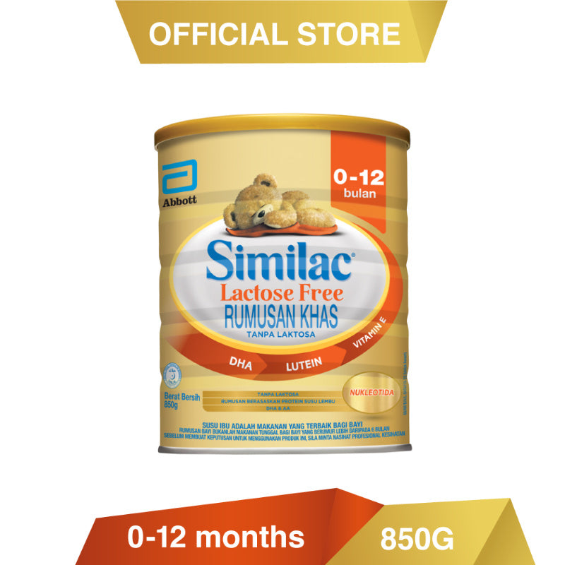 Similac LF 0-12 Months Infant Formula Milk Powder 850g
