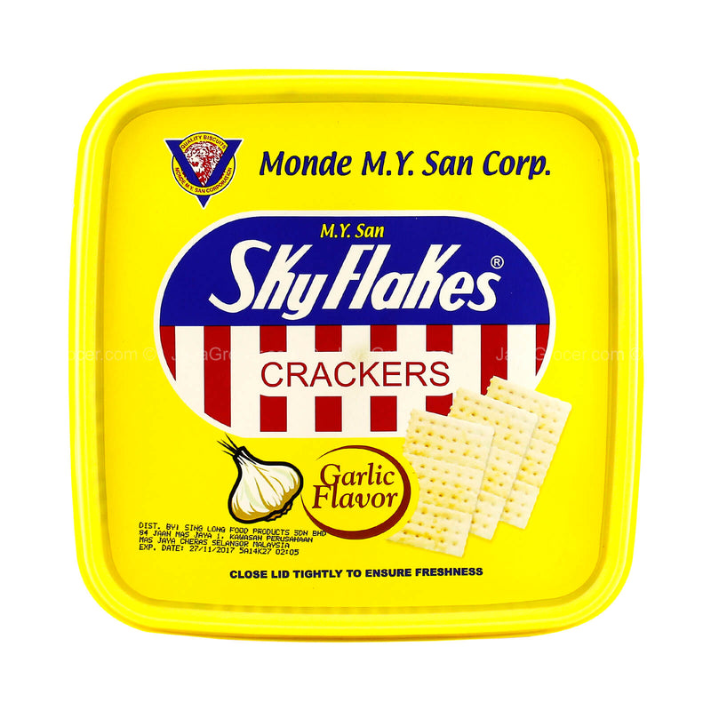 Sky Flakes Garlic Flavor Crackers 850g