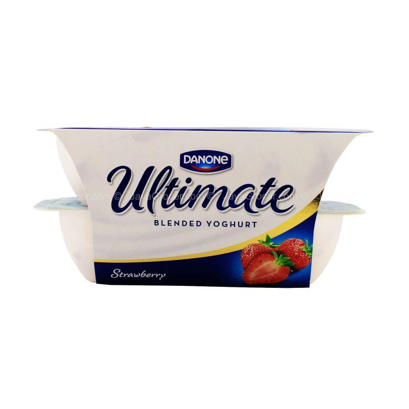 Danone Ultimate Strawberry Blended Yoghurt 125g x 4packs