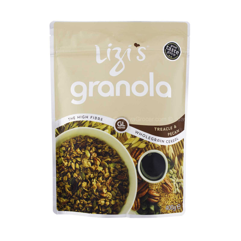 Lizi's Granola Treacle and Pecan Cereal 400g