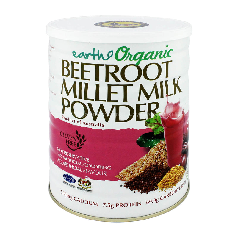Earth Organic Beetroot Millet Milk Powder 900g