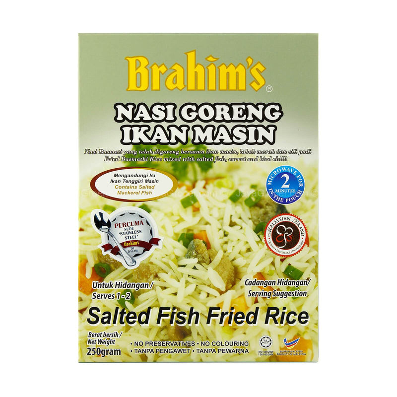 Brahim's Salted Fish Fried Rice 250g