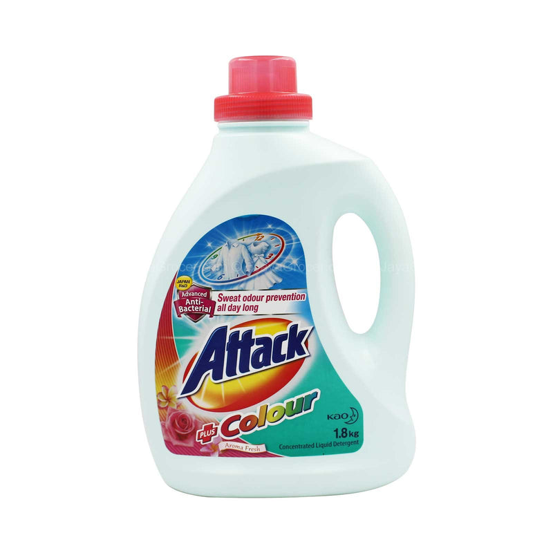 Attack Ultra Power Detergent Liquid Plus Colour 1.8kg
