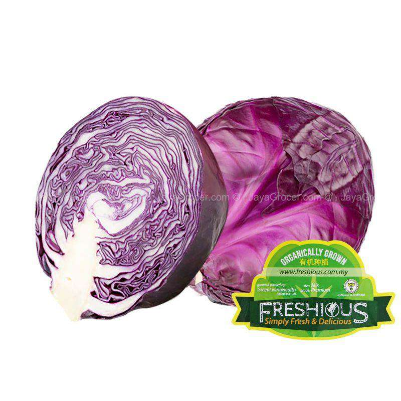 Organic Red Cabbage 800g