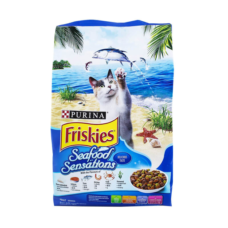 Purina Friskies Adult Cat Seafood Sensations Cat Food 1.2kg