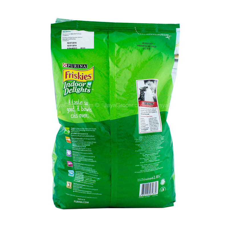 Friskies Adult Indoor Delights Hairball Control 2.8kg