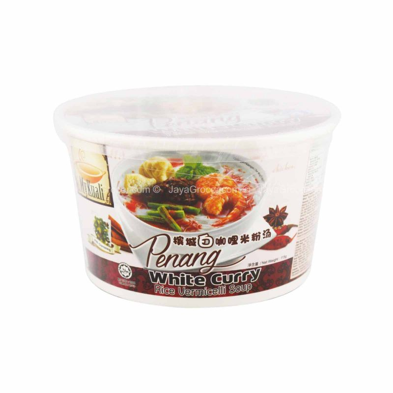 MyKuali Penang White Curry Rice Vermicelli Bowl 120g