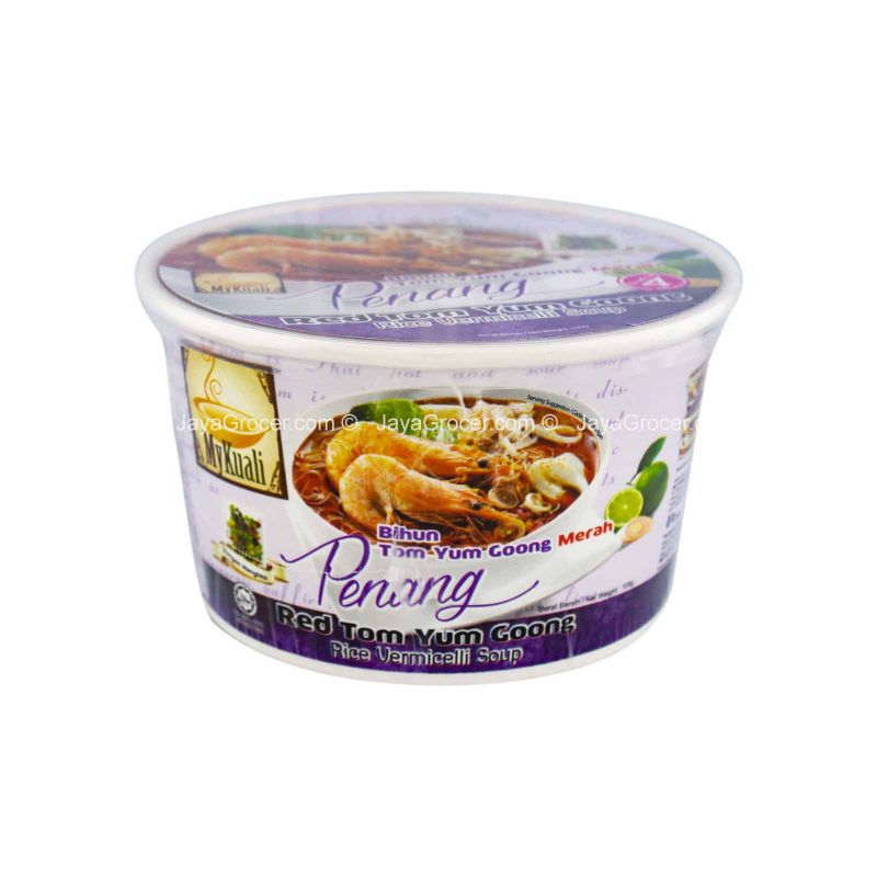 MyKuali Penang Red Tom Yum Goong Rice Vermicelli Bowl 120g