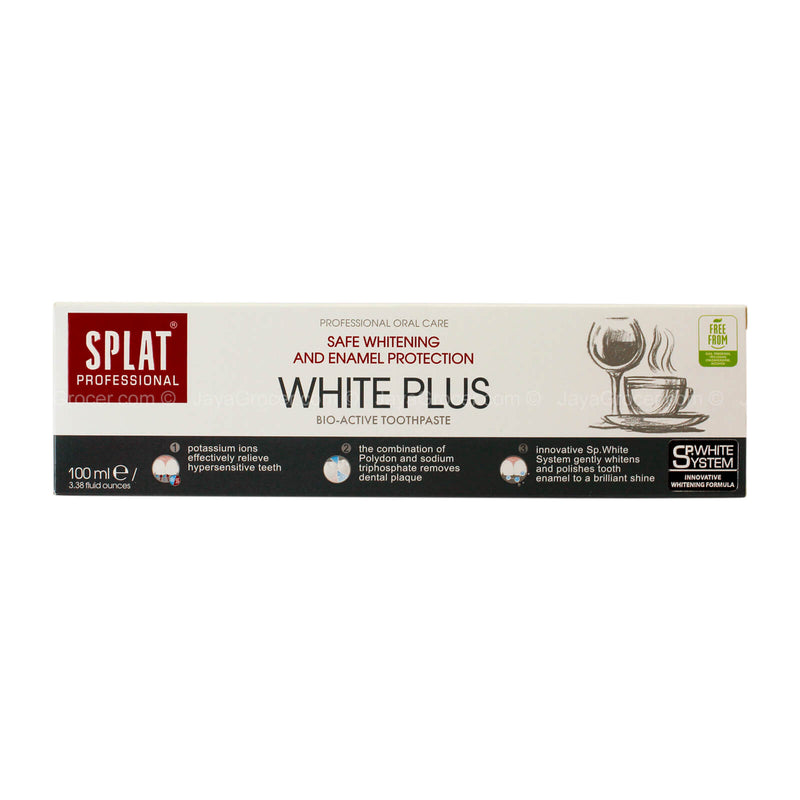 Splat White Plus Bio-Active Toothpaste 100ml