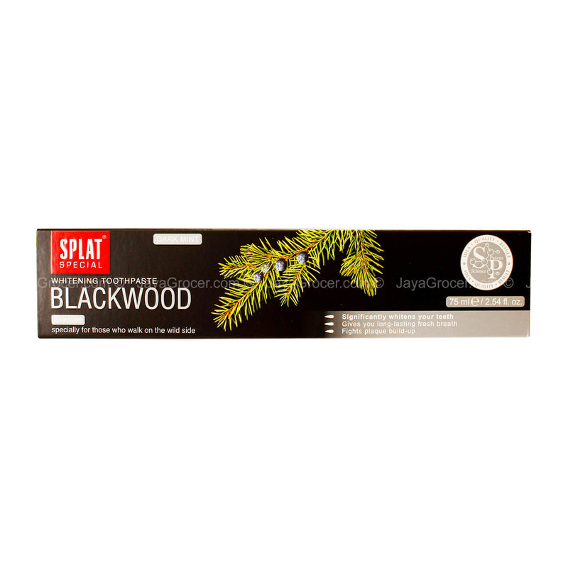 Splat Whitening Blackwood Toothpaste 75ml