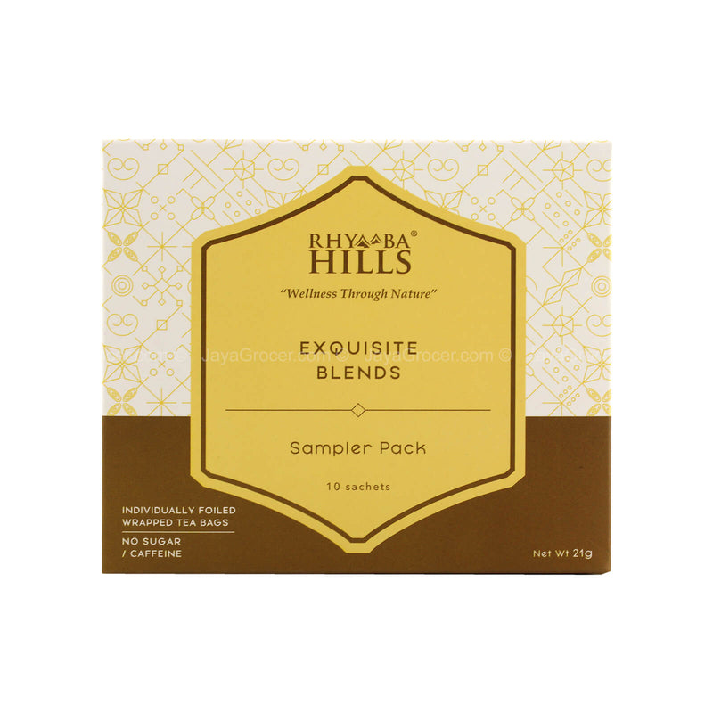 Rhymba Hills Exquisite Blends Tea Sampler Pack 21g