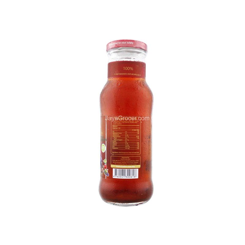 Grante 100% Pomegranate, Grape and Apple Juice 250ml