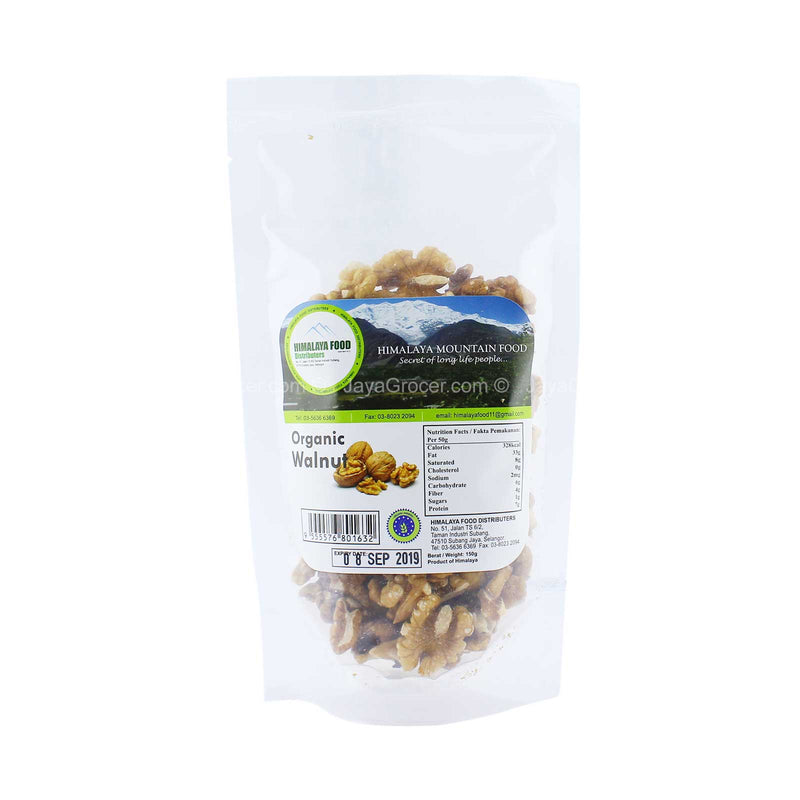 Himalaya Food Organic Walnut 150g